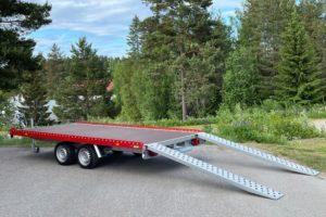 Tilhengernor PU-serie biltransporter , varehenger og maskinhengerr