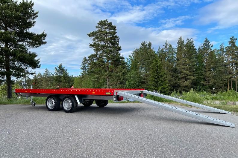 Tilhengernor PU-serie er en biltransporter, varehenger og maskinhenger .
