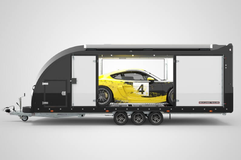Brian James Race Transporter 6 biltransporter