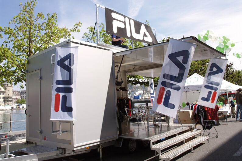 Messehenger for Fila