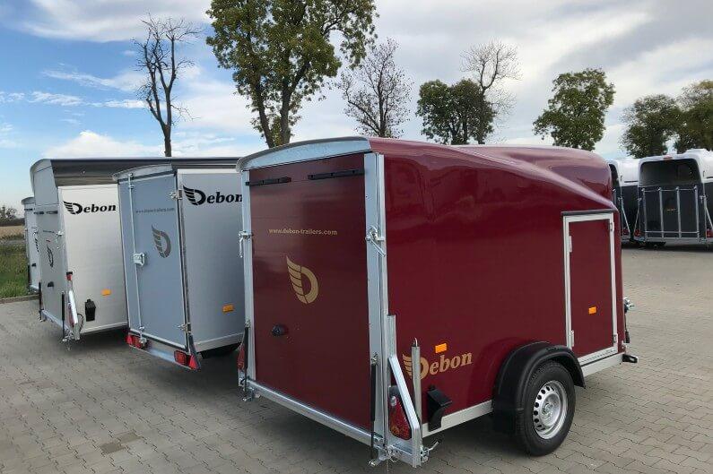 Debon Cargo 1300 rød skaphenger
