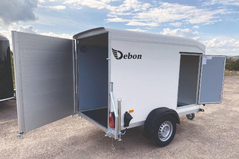 Debon skaphenger C255 med åpne dører