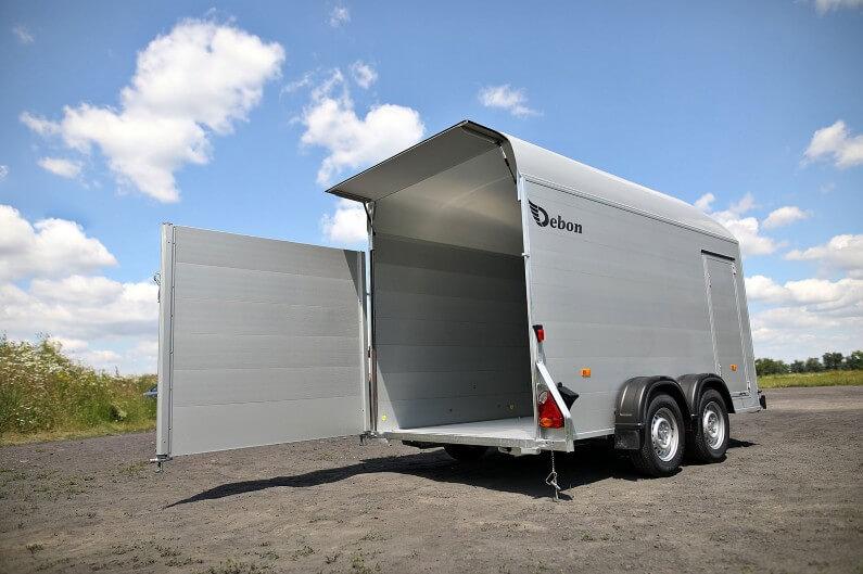 Debon skaphenger R500 XL med dørene åpne