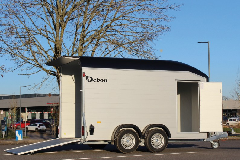 Tilhengernor Debon Roadster 700 aerodynamisk skaphenger