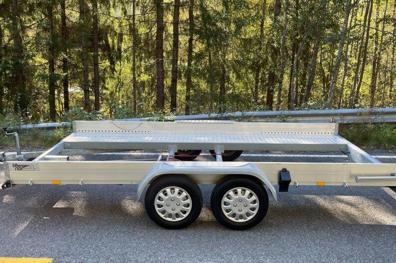 Tilhengernor F-serie ECO biltransporter